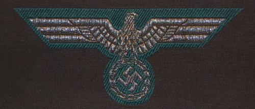 Heer Breast Eagle- Officer