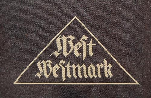 West Westmark - BDM Gau Triangle