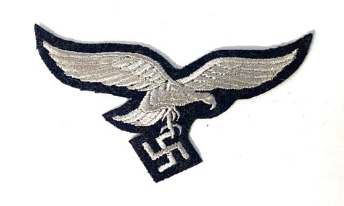 Luftwaffe EM Embroidered Breast Eagle - Late