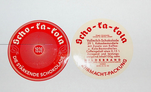 Scho-ka-kola Chocolate Labels