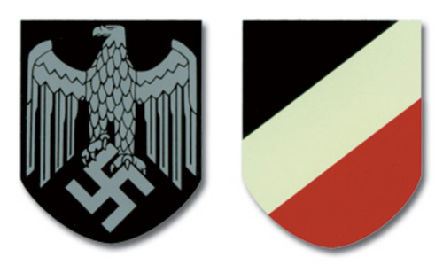 Heer Army German Helmet Decal