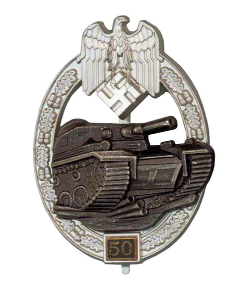 Panzer Assault Badge - 50