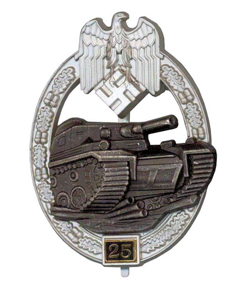 Panzer Assault Badge - 25