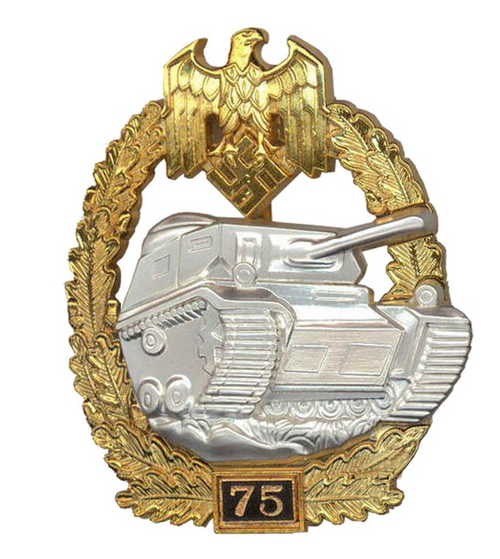 Panzer Assault Badge - 75