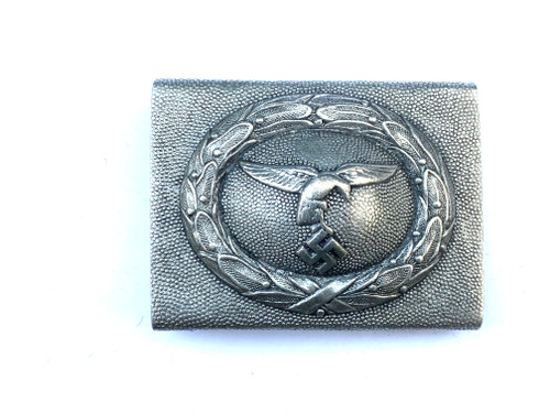 Luftwaffe Early Aluminum Belt Buckle