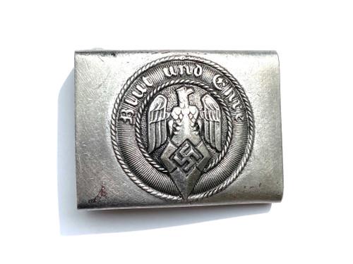 Hitler Youth Aluminum Belt Buckle