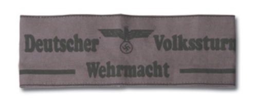 Nazi Deutscher Volkssturm Armband