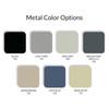 Datum Vu-Stak Open Shelving Pull-Out Work Shelf, Metal Color Options