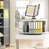 Moll Deluxe Desktop Binder & File Carousel, with Binders