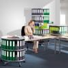 Moll Deluxe Desktop Binder & File Carousel, in Office