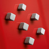Sigel Cube Magnets for Magnetic Glass Boards, 6-Pack