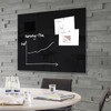 """Sigel Contemporary Magnetic Glass Board, 47"""" x 35"""" - Office Space"""