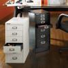 Bisley 6-Drawer Under-Desk Multidrawer Steel Cabinet - Office Space