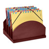 Stackable Wooden Desk Organizers Step-Up File