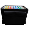 Soft Sided Binder Caddy, Heavy Duty Hand Truck and 2 Cases, Front Pocket