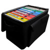 Soft Sided Binder Caddy, Standard Cart and 1 Case, Interior