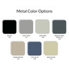 Datum Stak-N-Lok Locking Storage Add-On Shelf, Metal Color Options