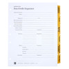 Non-Profit Index Tab Dividers - Cover Sheet