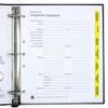 Corporate Index Tab Dividers - In Binder