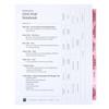 Civil Trial Index Tab Dividers