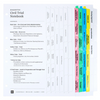 3-Ring Civil Trial Notebook - Full View Index Tab Set