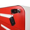 Glide 3-Drawer Mobile File Cabinet, Key in Cabinet