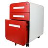 Glide 3-Drawer Mobile File Cabinet, Bottom Drawer