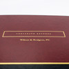 Deluxe Corporate Records 3-Ring Binder - Gold Foil