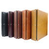 Premium Leather 3-Ring Binder, D-Shaped Rings, All Colors Product Photo
