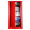 Datum Ez2 Rotary Action File Locking Storage, 6' Tall, Easily Turns