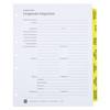 Corporate Kit, 3-Ring Binder - Index Tabs