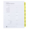 Corporate Kit with Seal, 3-Ring Binder - Index Tabs