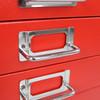 Bisley 10-Drawer Under-Desk Multidrawer Steel Cabinet, Handle