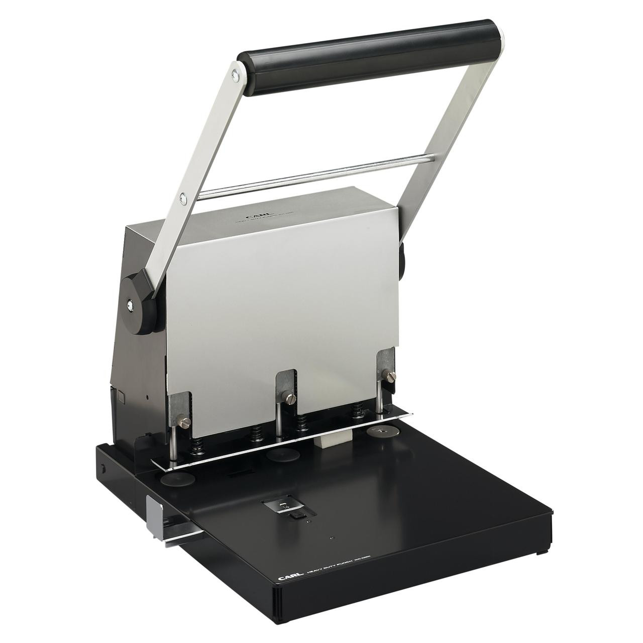 Letter Hole Puncher.Carl 300 Page Adjustable 3 Hole Punch For Letter And Legal Sized Paper