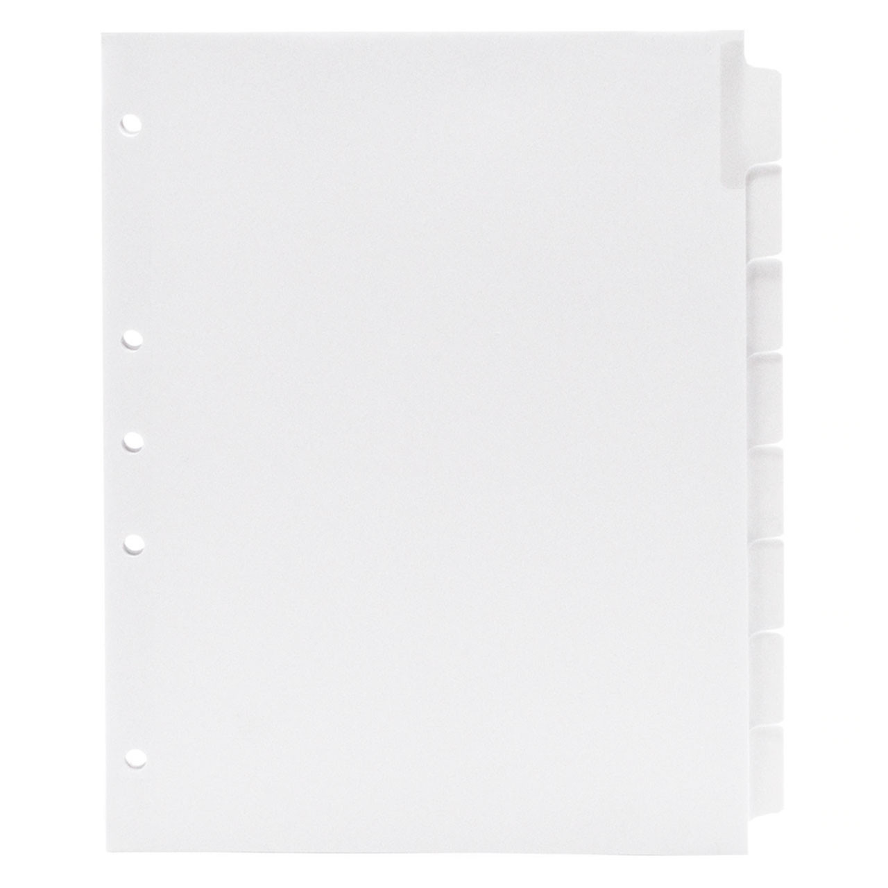 Blank Write-On Index Tab Dividers, 21-Tab Set With 8 Tab Divider Template Word
