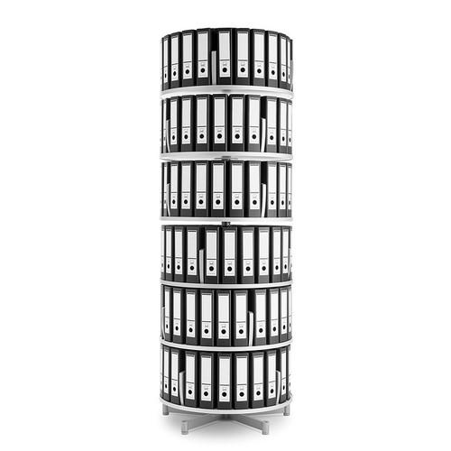 Moll Deluxe Binder & File Carousel, 6-Tier Shelving, Main Product Image Binders