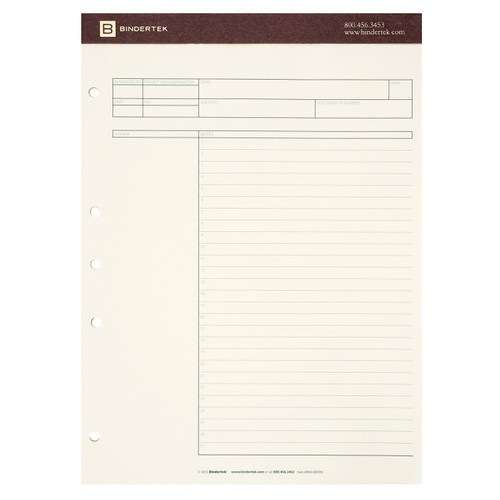6-Pack of Premium Deposition Writing Pads