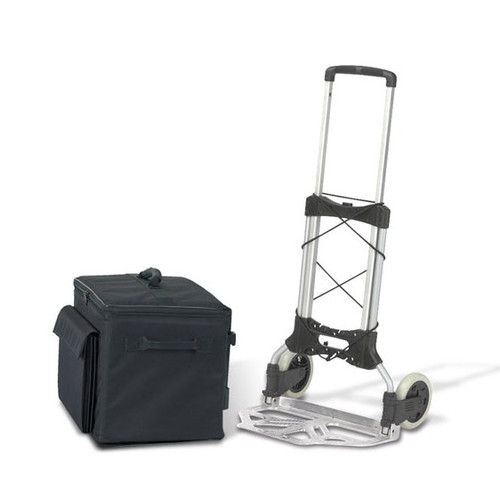 Soft Sided Binder Caddy, Heavy Duty Cart and 1 Case