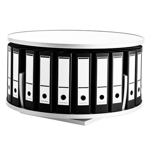 Moll Deluxe Desktop Binder & File Carousel