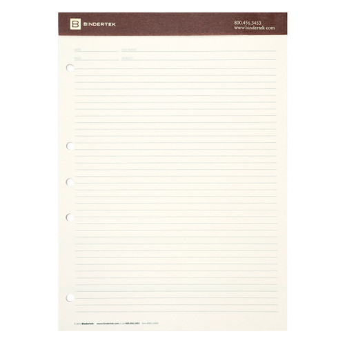 6-Pack of Premium Lined Writing Pads