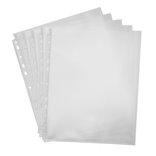 High Capacity Top-Loading Sheet Protectors, Letter-Size, 10-Pack, Product Photo