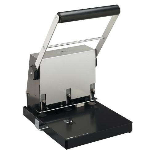 Carl 300-Page Adjustable 3-Hole Punch for Letter and Legal-Sized Paper