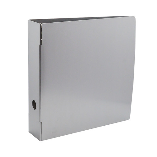 "Heavy-Duty Metal 3-Ring Binder, 3"" Spine"