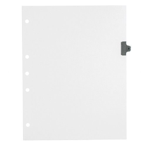 Individual Numeric Tab Dividers (1-25), 12-pack, Main Product Photo