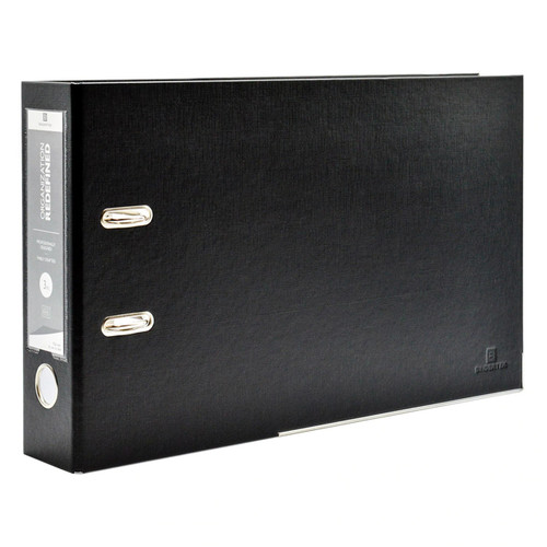 "Advantage TopFiles Legal 2-Ring Binder for 8.5"" x 14"" Top-Punched Paper, 3"" Spine"