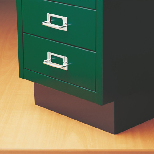 Bisley Multidrawer Cabinet Plinth, for 6 and 8-Drawer Units