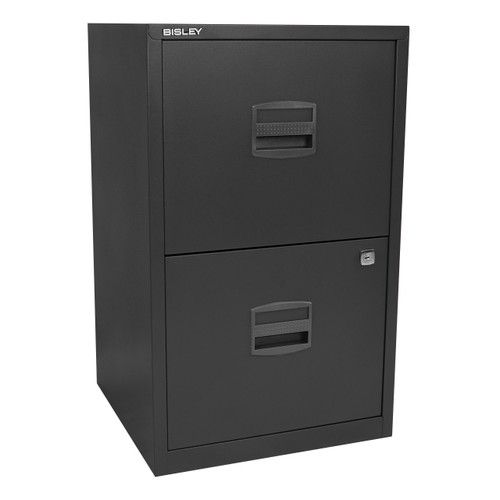 Bisley 2-Drawer Steel Home File Cabinet