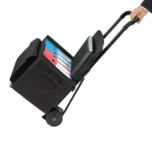 Soft Sided Binder Caddy, Standard Cart and 1 Case