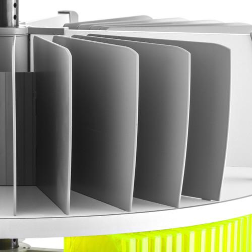 Moll Deluxe Binder & File Carousel Organizer Set
