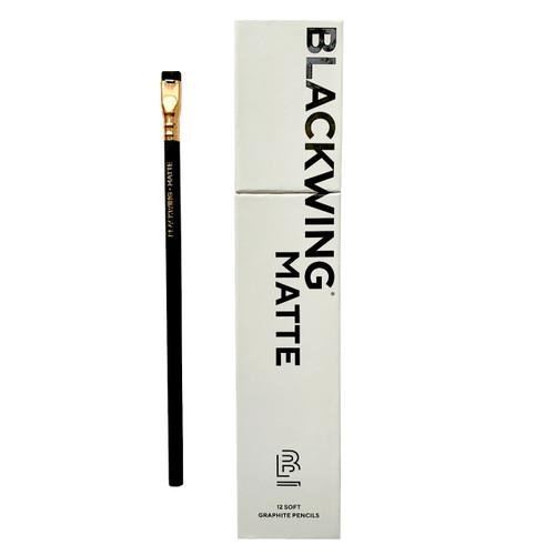 Blackwing Matte Pencils, 12-Pack